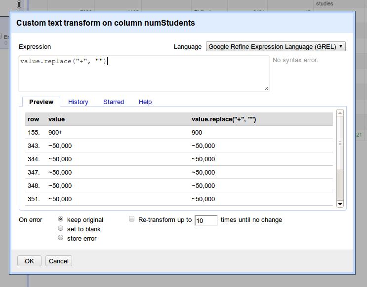 GoogleRefine_TextTransform