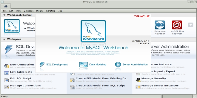 تصویر از MySQL Workbench نرم افزاری مناسب برای طراحی نمودار ER