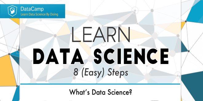 تصویر از هشت گام برای تبدیل شدن به یک دانشمند داده