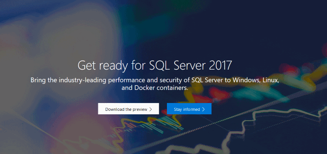 تصویر از امکانات جدید SQL Server 2017 -پیوند بانک اطلاعاتی رابطه ای و هوش مصنوعی