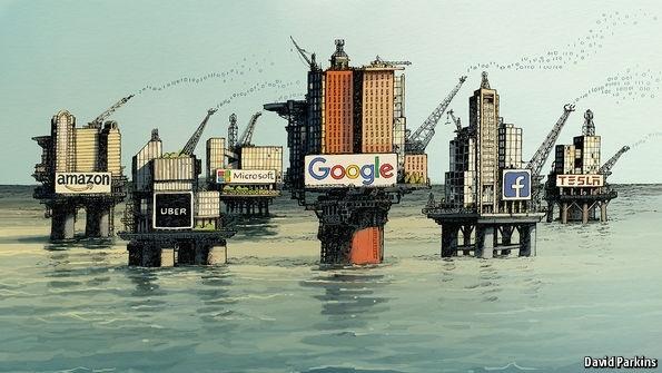 تصویر از داده : ارزشمندترین منبع تولید ثروت در دنیای معاصر