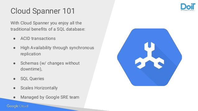 تصویر از گوگل اسپنر : دیتابیس نوین گوگل