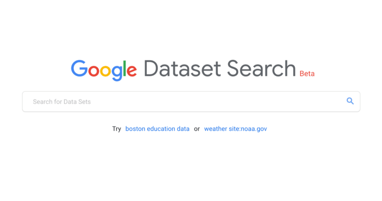 تصویر از موتور جستجوی مجموعهداده – گوگل
